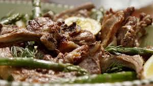 Grilled Lamb Chops With Asparagus Agnello Alla Griglia Con Asparagi
