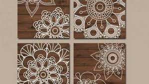 wood medallion wall art decoration wood wall art bedroom wall decor canvas or prints bathroom decor wood medallion wall