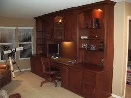home office in a cupboard. Built In Desk With Upper Cabinets Home Office A Cupboard R