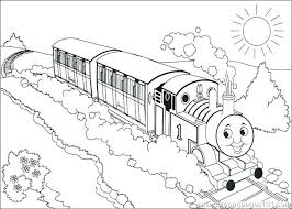 Unique Thomas The Tank Engine Coloring Book And The Train Coloring