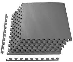 Rubber floor mats Mustang Rubber Floor Mats Waterproof Interlocking Home Gym Pcs Gray 24x24 Inch Ebay Ebay Rubber Floor Mats Waterproof Interlocking Home Gym Pcs Gray 24x24