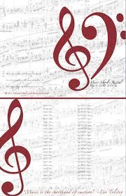 Free Download Editable Recital Program Templates Piano
