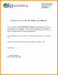 Ojt Certificate Sample For It Student New 12 Certification Letter