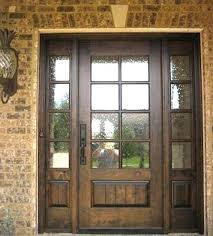 wood front entry doors craftsman door