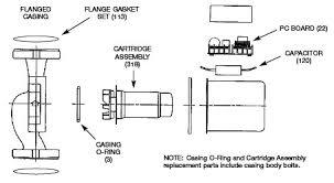 taco 007 f5 pump parts