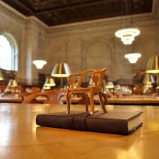 Reading Room In House Rose Main Reading Room Miniature Chair The New York Public