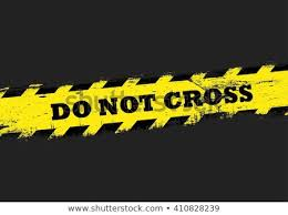 Image result for Dark line do not cross