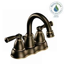 laundry bath moen banbury 4 in centerset 2 handle high arc bathroom faucet in mediterranean bronze