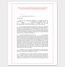 Employee Appointment Letter Template - 10+ For Word Doc, Pdf Format