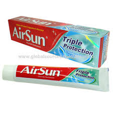 China Airsun Triple Protection Fluoride Dentifrice Helps Protect