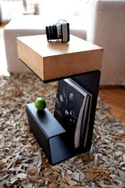 Book Design Side Table Amazon Com End Table Wooden Nightstand Wooden Coffee