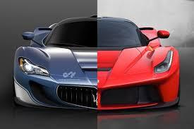 Maserati Auto Designer Designer Envisions Laferrari Based Maserati Concept Motor1