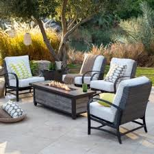 patio furniture with fire pit. Brilliant Patio Master PACA Perfect Fire Pit Patio Set Inside Furniture With N