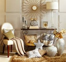 home accents interior decorating: silver and gold decor mix metallic home decor decembers color of the month