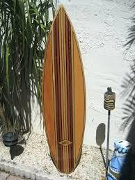 surfboard wall art wooden australia