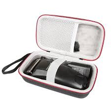 EVA mới Cứng dành cho Remington F5 5800 Viền Máy Cạo Râu nam Lược điện Điện  Với Túi Lưới cho phụ kiện Speaker Accessories