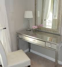 Silver Bedroom Vanity Bedroom Casual White Wooden Side Chair And White Wooden Vanity