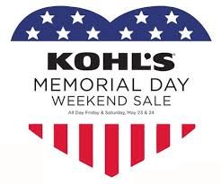 Kohls Memorial Day Sale + $10 off Coupon! :: Southern Savers