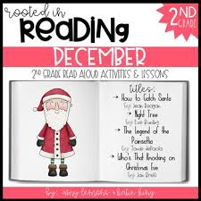 rooted in reading december read aloud lesson and activities