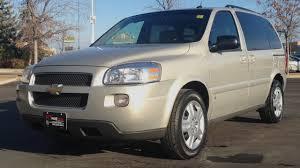 2009 Chevrolet Uplander LT - Winnipeg MB - DVD, Short Wheel Base ...