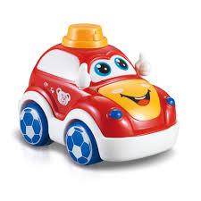Ô tô đẩy đà đồ chơi cho bé tập bò, ô tô trớn đà ngộ nghĩnh Toyshouse S79 - Đồ  chơi cho bé trai, bé gái chính hãng