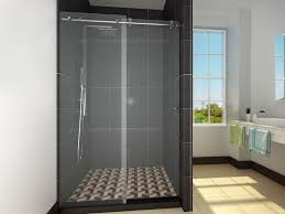 modern sliding glass shower doors