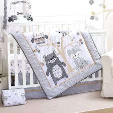 crib bedding set woodland friends 3 piece crib bedding set mini crib bedding sets babies r