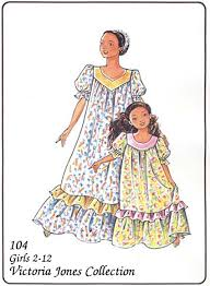 Muumuu Pattern New Victoria Jones Collection 48 Girls' Muumuu
