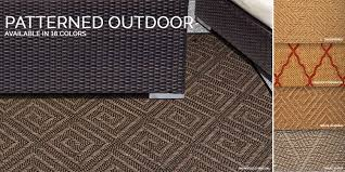 patterned outdoor rugs