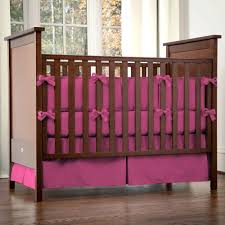 solid hot pink crib bedding designs