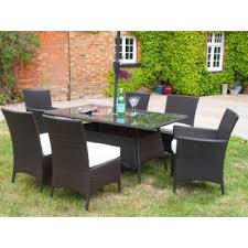 grey rattan dining table. barcelona 1.5 metre rectangular grey rattan dining table 4 chairs and 2 carver set r
