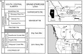 Alberta Stratigraphic Chart A Stratigraphic Chart Showing The Formations In South