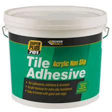 everbuild 701 non slip tile adhesive
