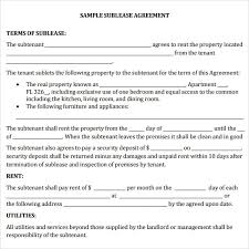 A sublease is an agreement that describes the terms and conditions of an existing tenant and a subtenant who would like to sublet the property from the tenant. Free 25 Sample Sublease Agreement Templates In Google Docs Ms Word Pages Pdf