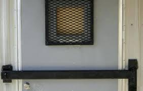 commercial door security bar. Brilliant Commercial Outswing Door Security Bar Commercial  Doors Single In A