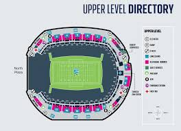 Stadium Maps Centurylink Field Centurylink Field With Qwest