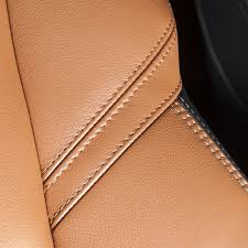 car leather seat detail