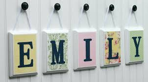 wooden letters for nursery wall decor wooden letters