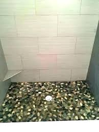 river rock floor tile amazing pebble tile shower floor with sliced and rock how to install river rock floor tile