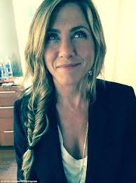 fishl jennifer aniston showed off her perfectly messy new side braid in an image posted