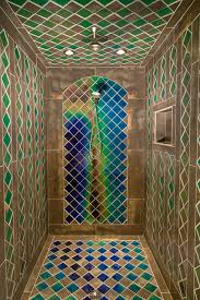 mid evil custom shower eclectic bathroom