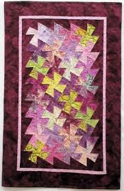 378 best Lil Twister Quilts/Table Runners images on Pinterest ... & Batik Gelato Lil Twister Table Runner Kit Adamdwight.com