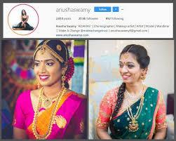 anu col min top 10 bridal makeup artists in chennai you should follow on