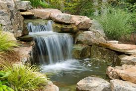 Small Picture How to Build Outdoor Waterfalls Inexpensively
