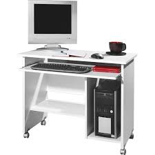 white computer desk. Germania White Computer Desk