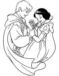 Disegni Da Colorare Biancaneve Principessa Disney Bellissima Disegni