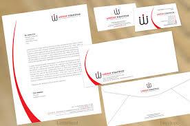 Modern Professional Letterhead Design For Webber Insurance