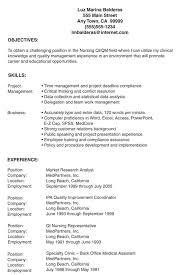 Lpn Resume Sample Examples Templates Nursing Template Free No