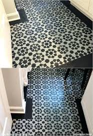 can you paint vinyl flooring yes you can paint vinyl linoleum floors with stencils check out can you paint vinyl flooring