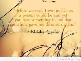 Nicholas Sparks Quote With Image Inspiration Nicholas Sparks Quotes